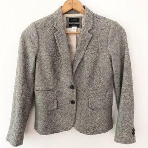 J. Crew Schoolboy Tweed Blazer